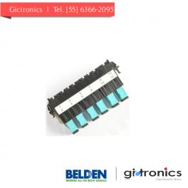 FF3U06SD Belden conector Ultra Frame OM3 de 6 puertos