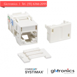 700206725 Systimax Jack Blanco Categoria 6 RJ45 MGS400-262