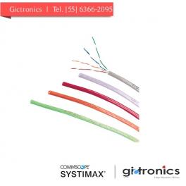106836950 Systimax 1061C SL 4/24 W1000 Cable UTP 1061 CM Cat5e 4 pares, gris
