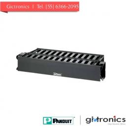 WMPH2E Panduit Organizador Horizontal de Cables Doble para Rack de 19'' 2U